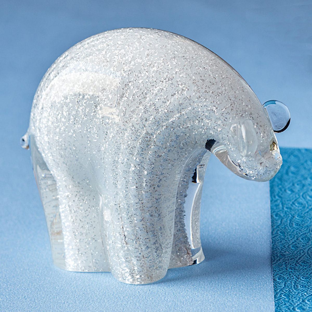 Murano Glass Polar Bear, Small