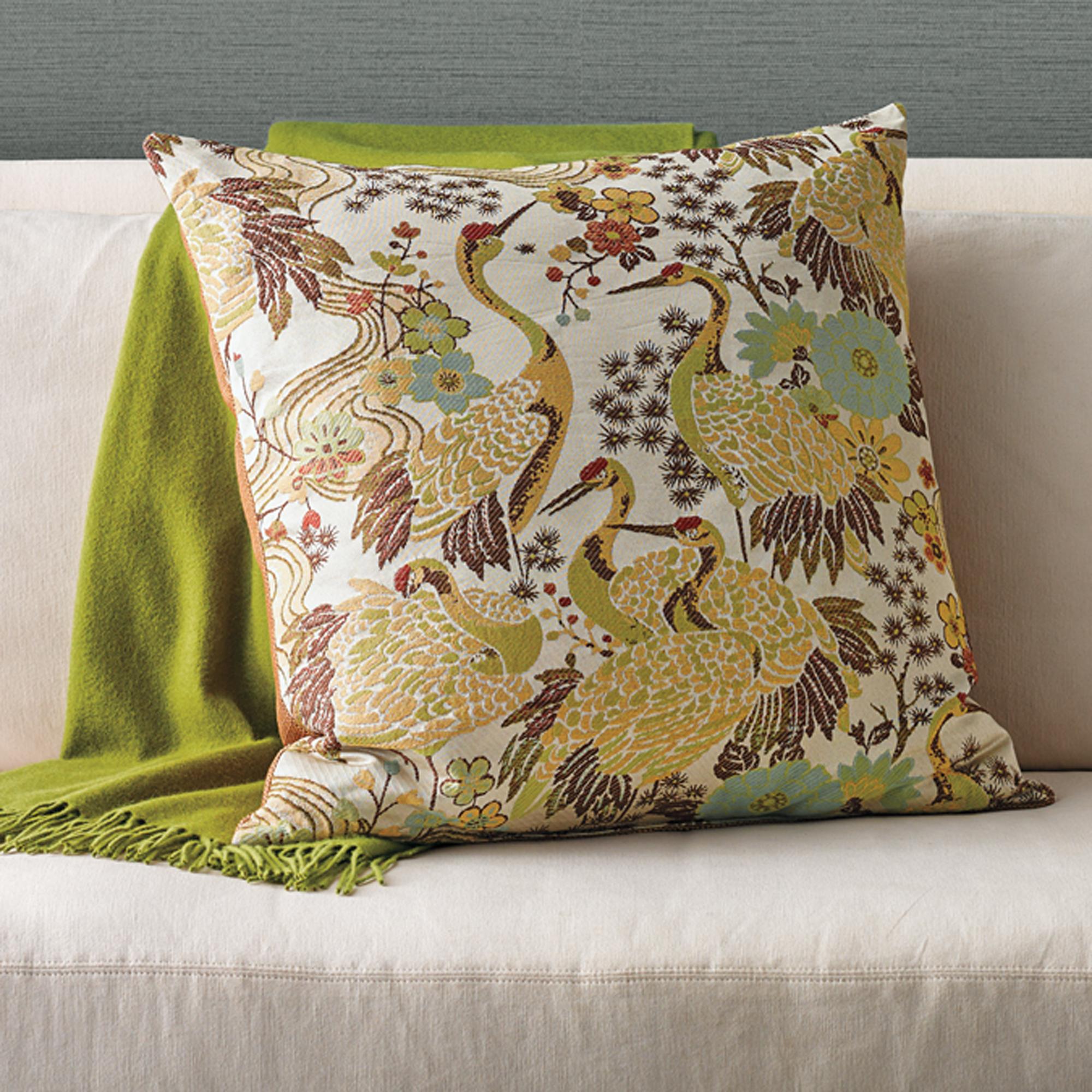 Throw Pillows Home : Crane Pillow Gump s