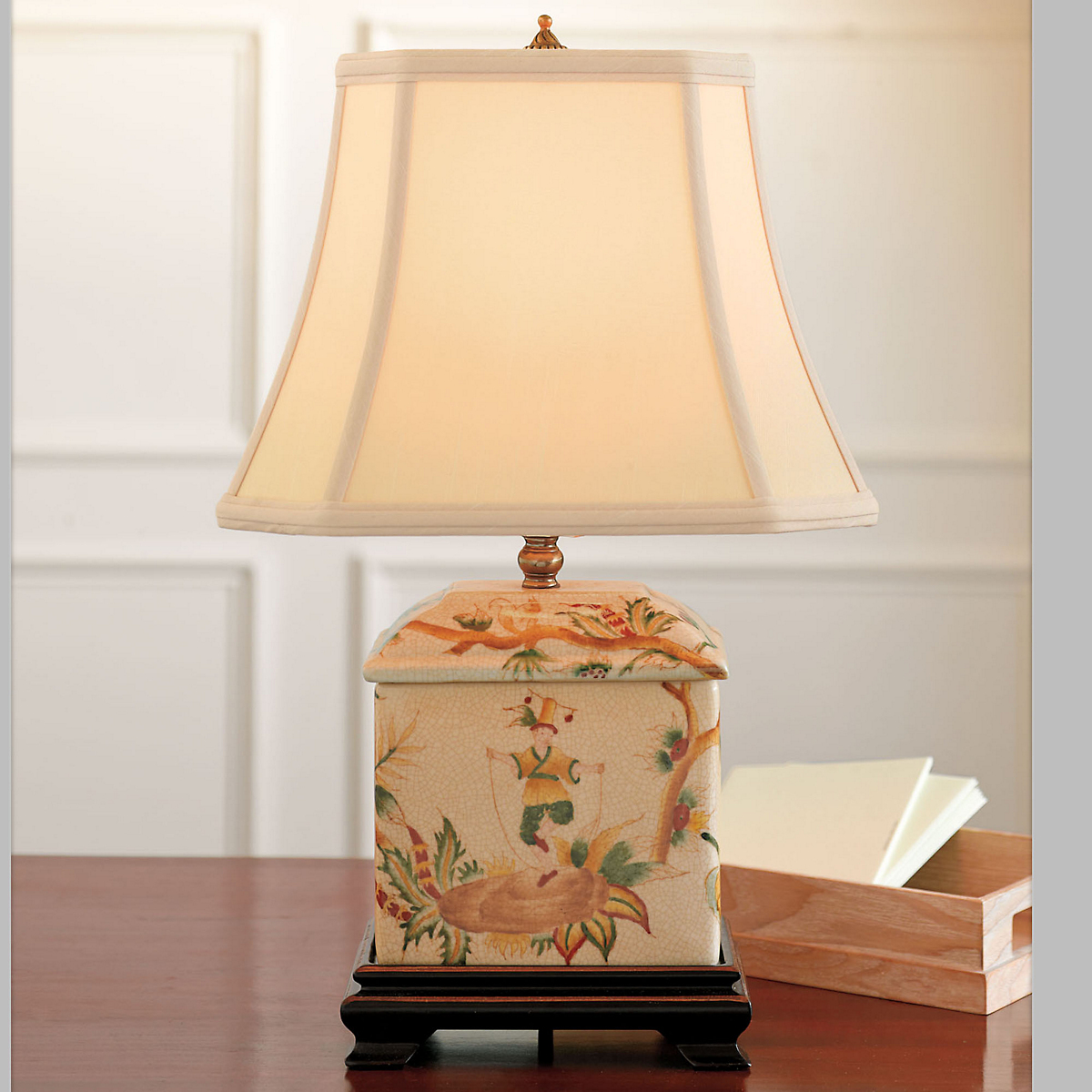 Tea Caddy Lamp