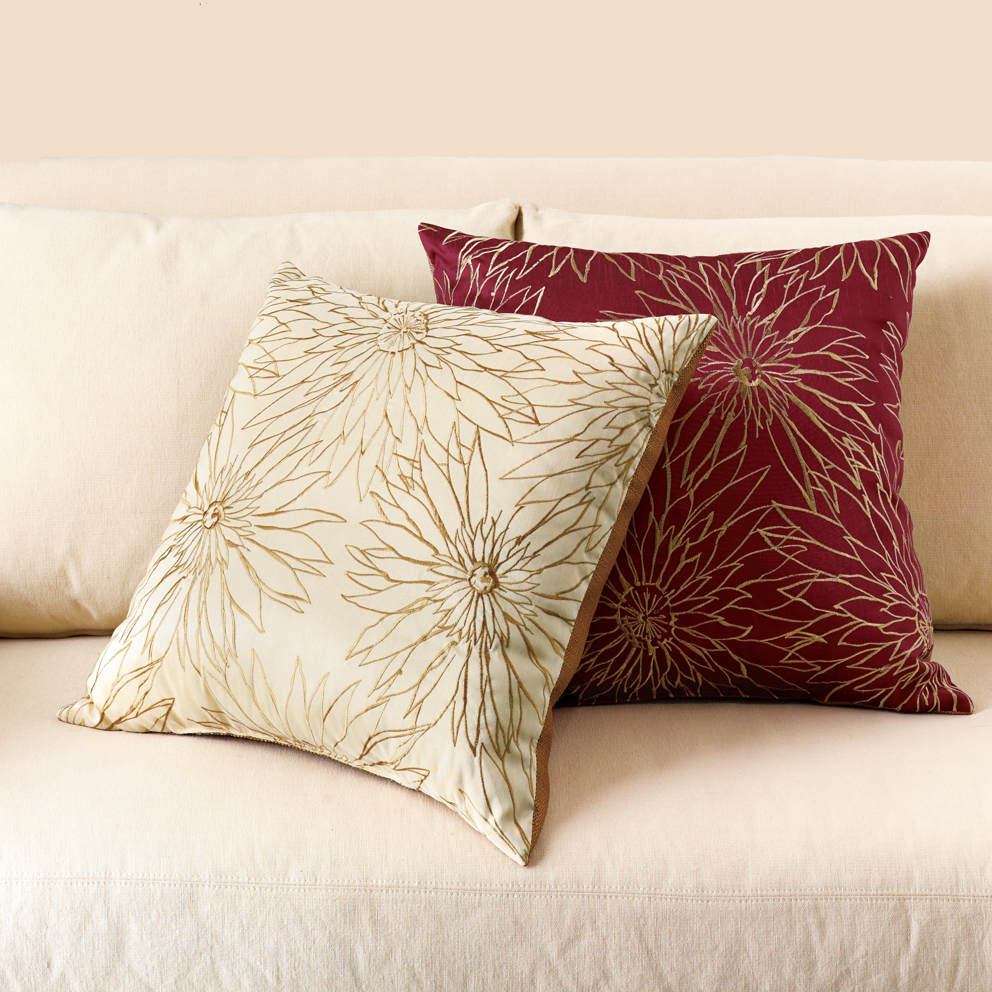 Dahlia Pillows