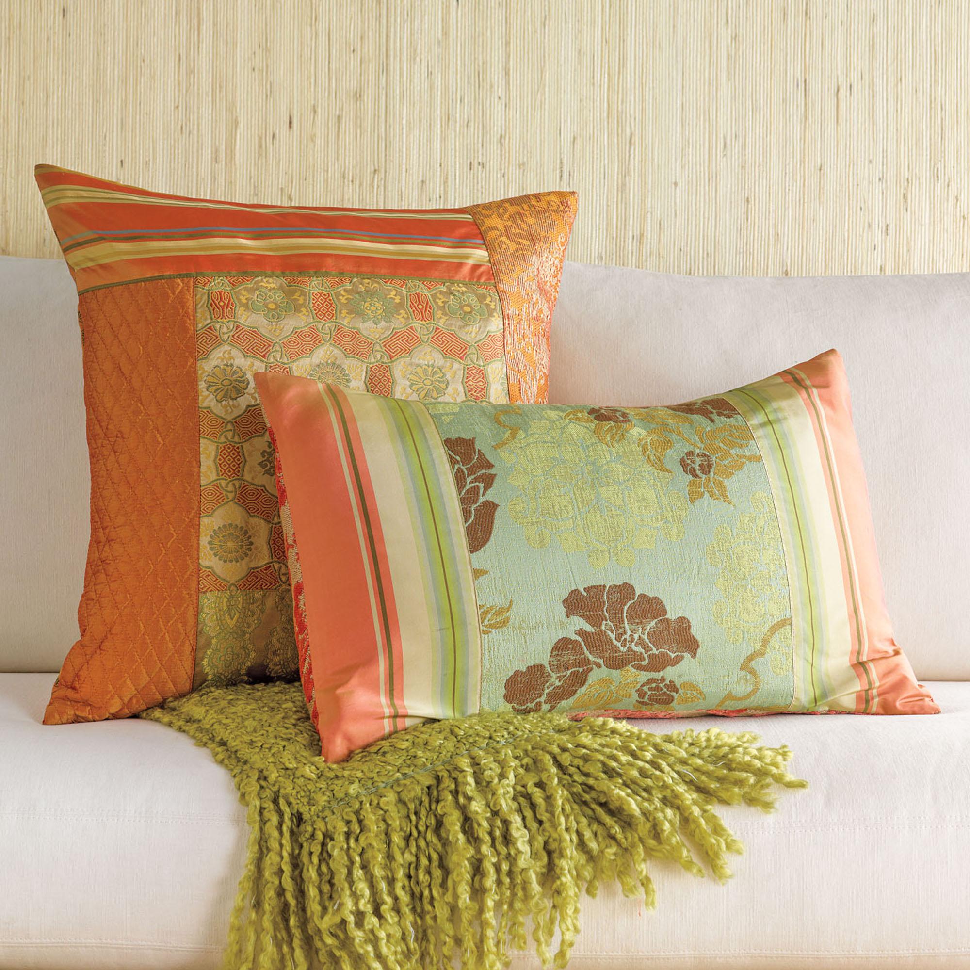 Throw Pillows Home : Kimono Pillows Gump s