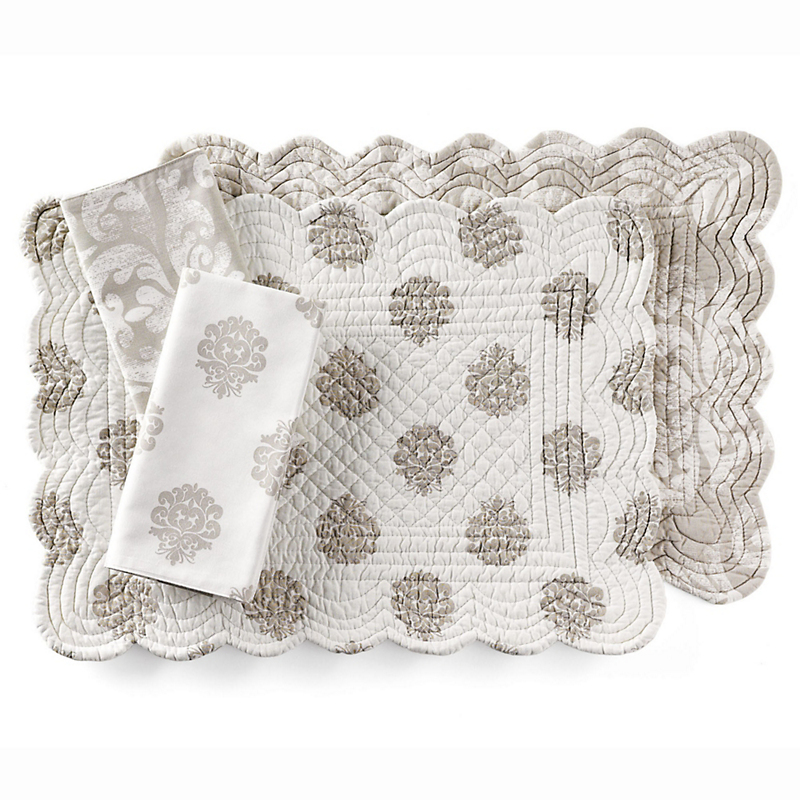 Williamsburg Reversible Napkins, Set of 4