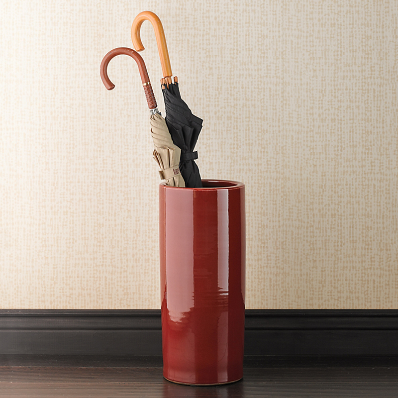 Oxblood Umbrella Stand