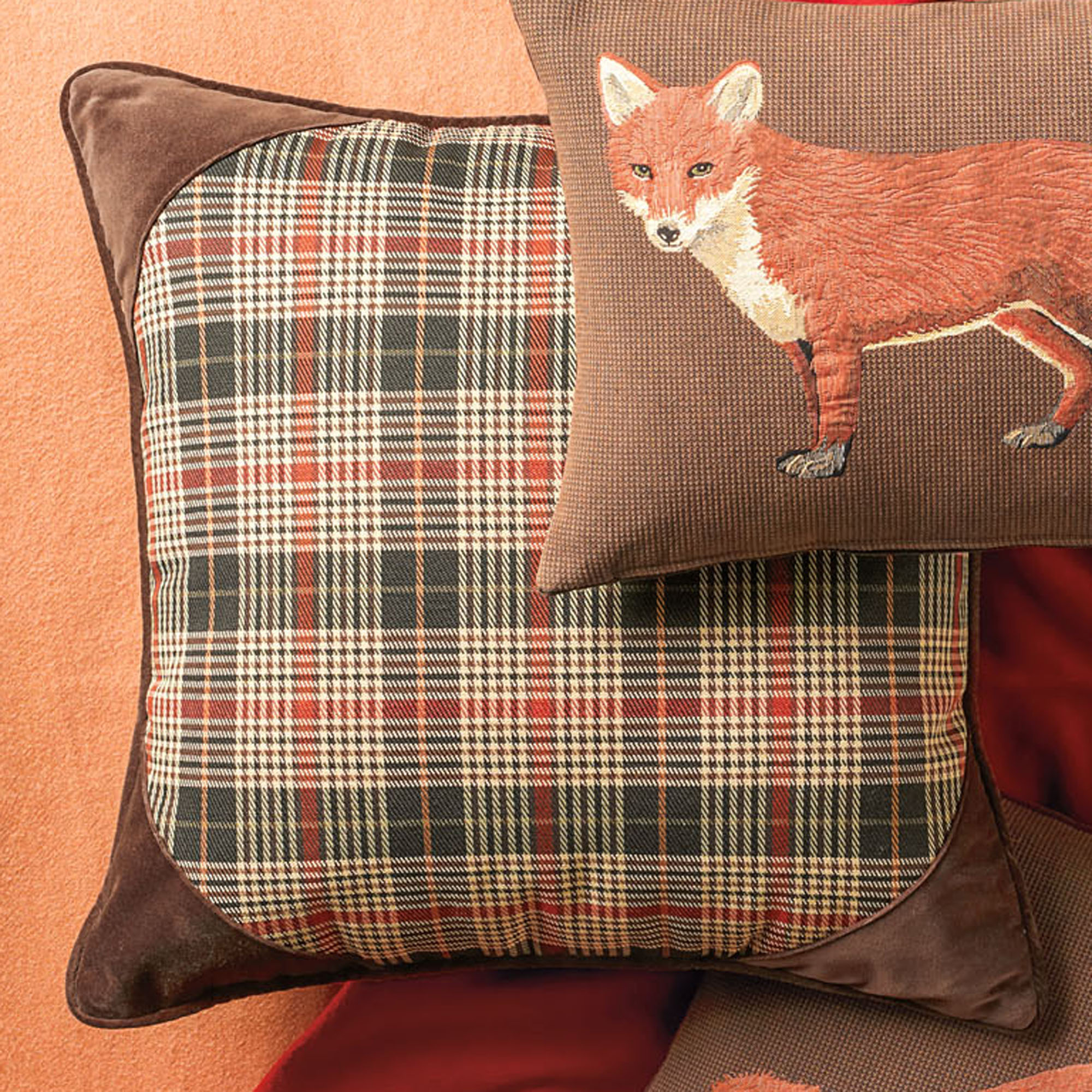Essex Plaid Pillow