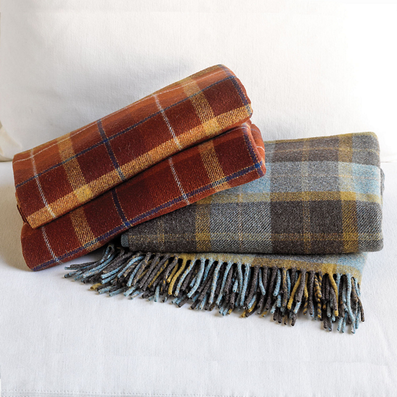 Plaid Pendleton Throw