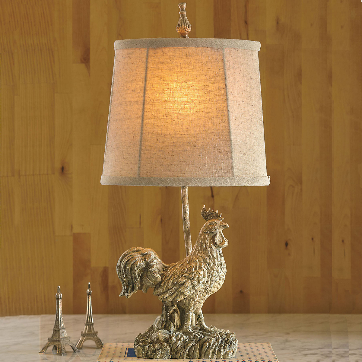 Rooster Lamp