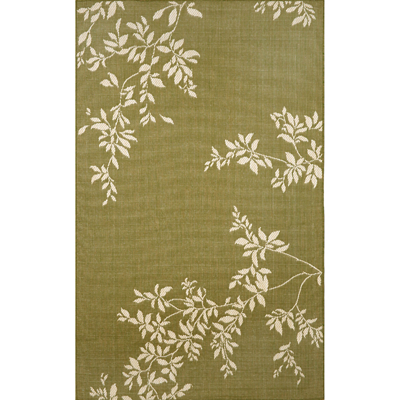 Terrace Vine Rug, Green