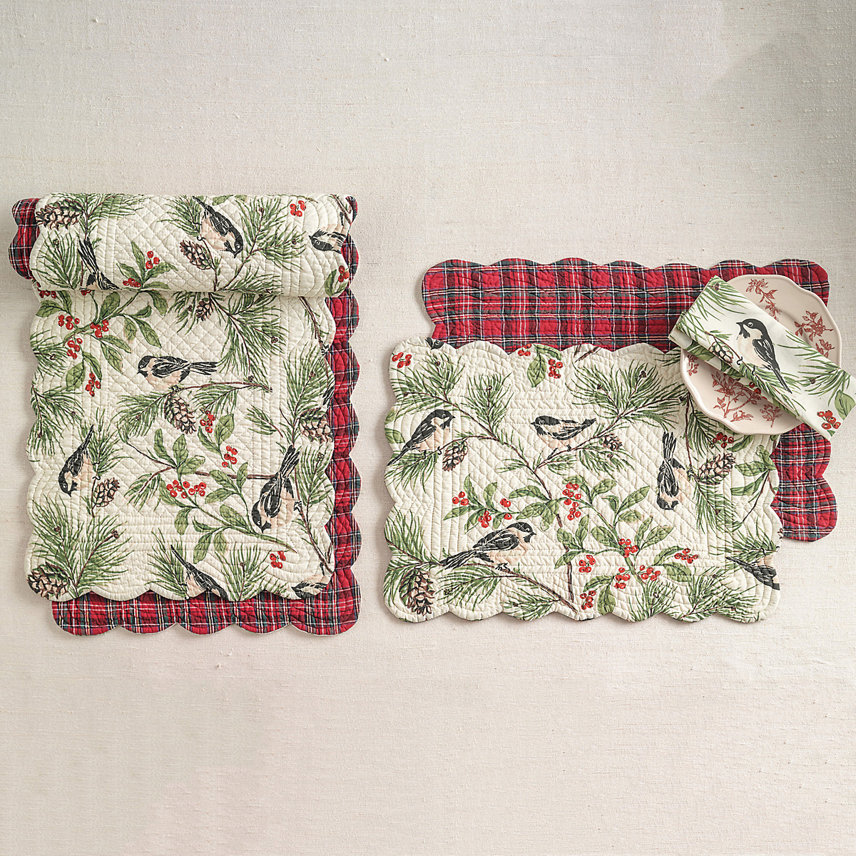 Winter Wonderland Table Linens