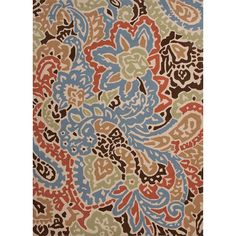 Barcelona Indoor / Outdoor Rug, Flores Multi