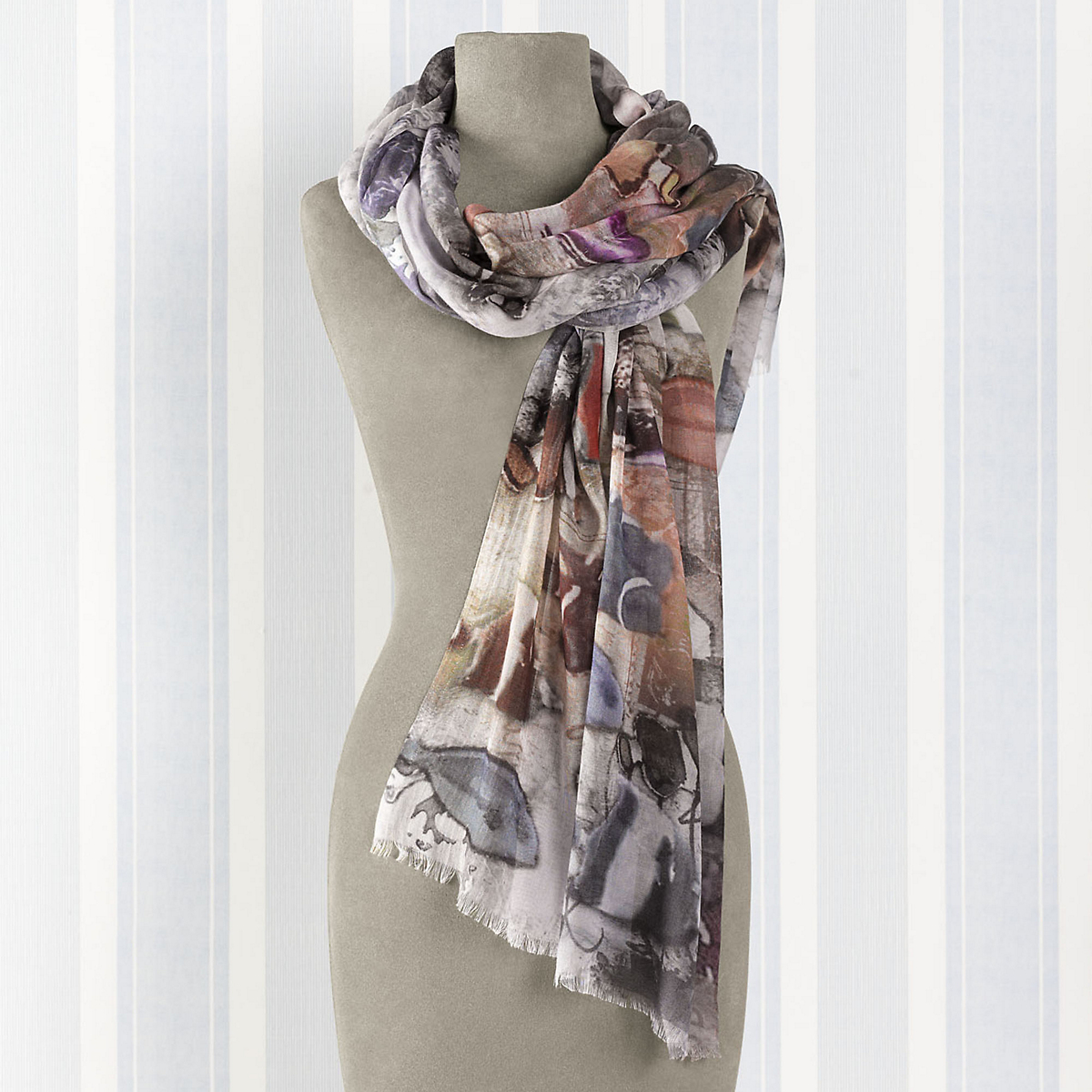 Abstract Undersea Scarf