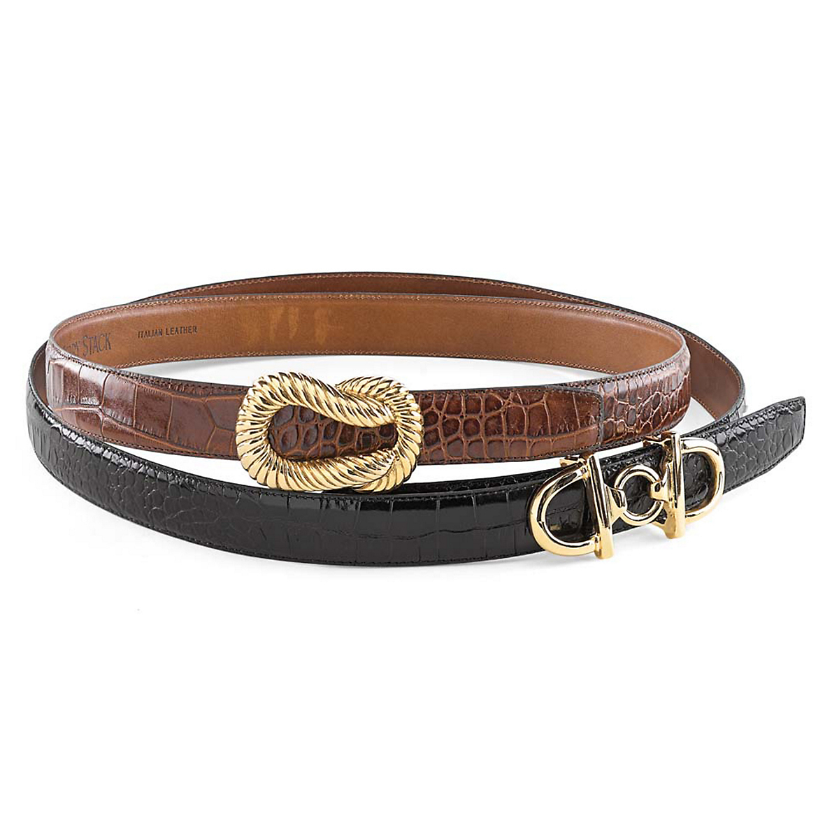 Croc Belts & Decorative Buckles