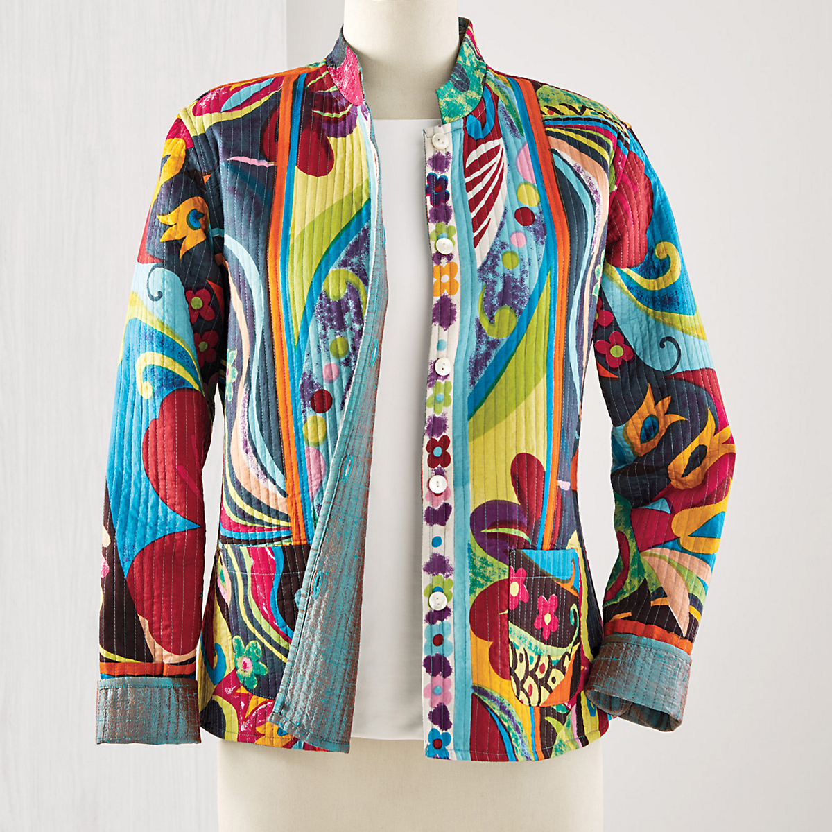 Reversible Art Deco Jacket