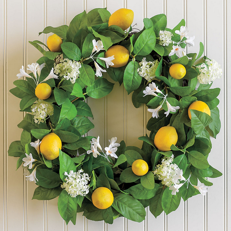 Meyer Lemon Wreath Gump S