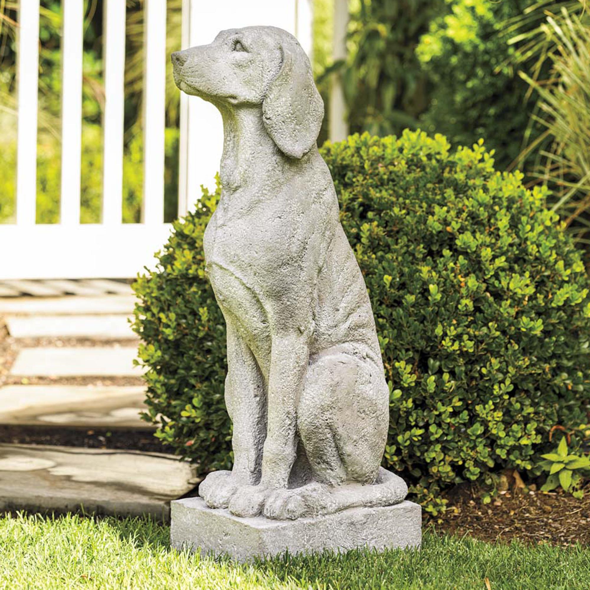 Garden Dog Statue Gumps