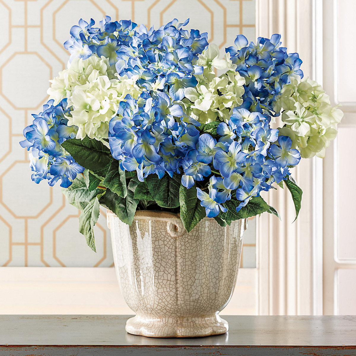 Blue Heirloom Hydrangeas