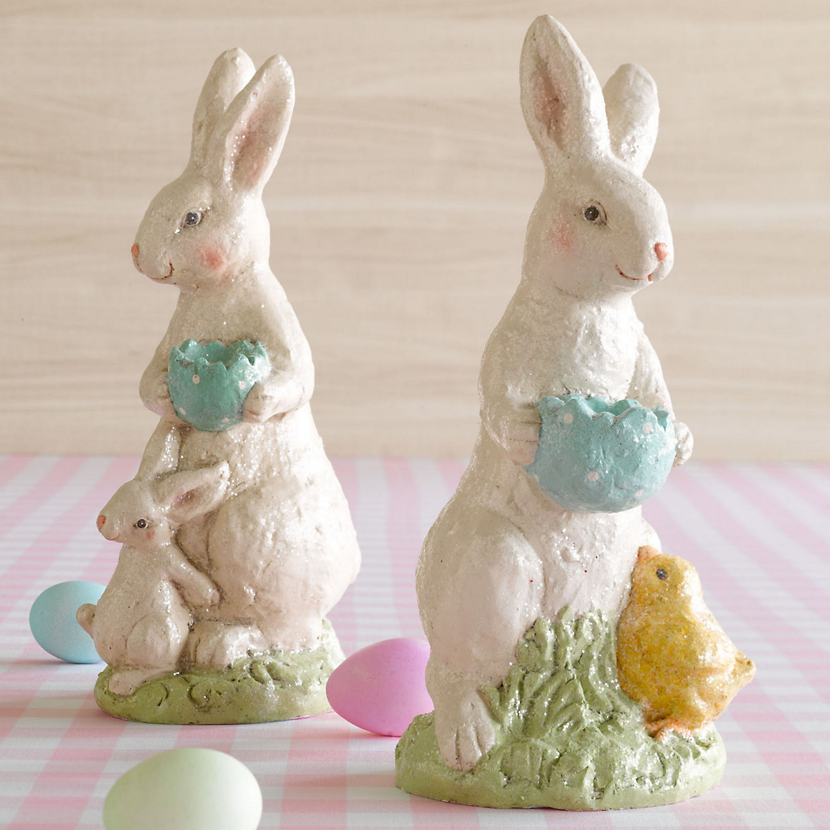 Glittering Easter Bunnies