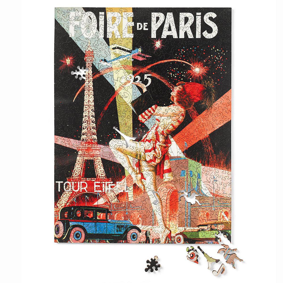 foire de paris puzzle gump 39 s. Black Bedroom Furniture Sets. Home Design Ideas