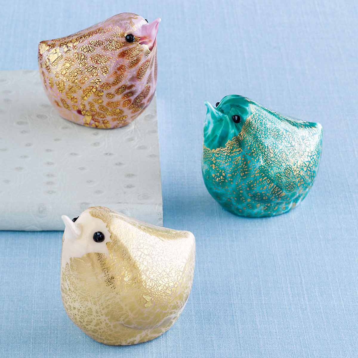 Murano Glass Chicks