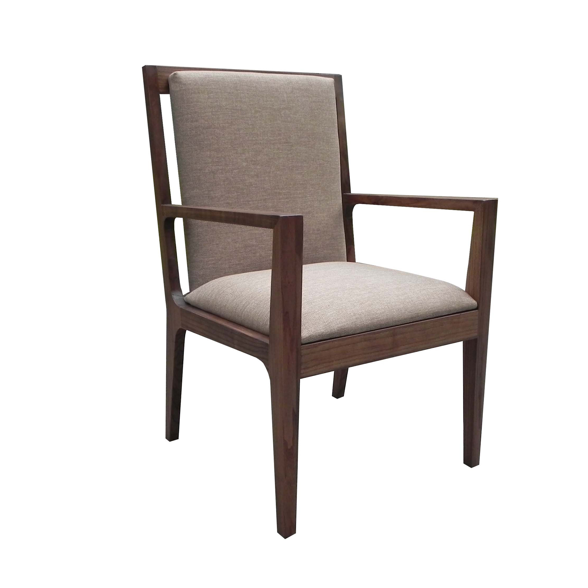 Maria Yee Papyrus Upholstered Back Armchair