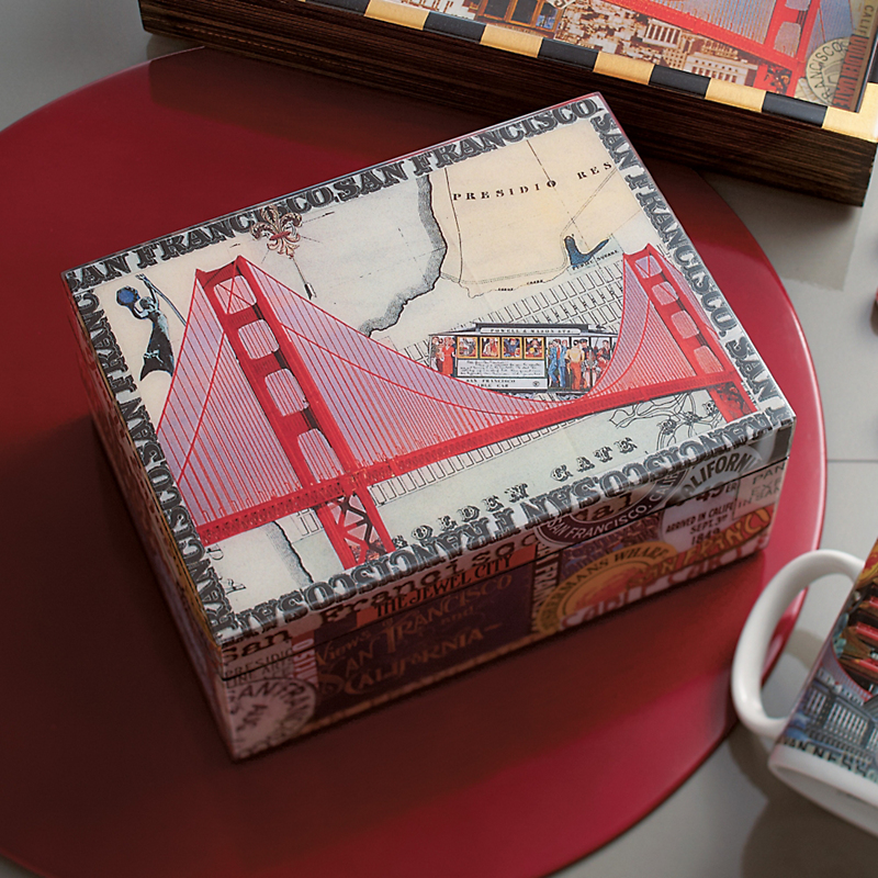 Annie Modica San Francisco Small Box