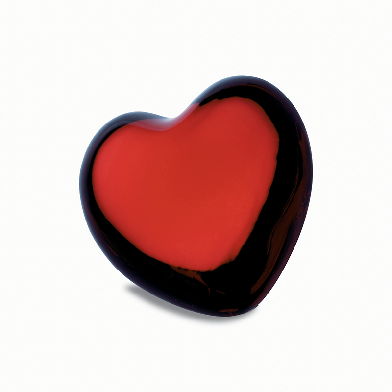 Baccarat Puffed Heart, Red