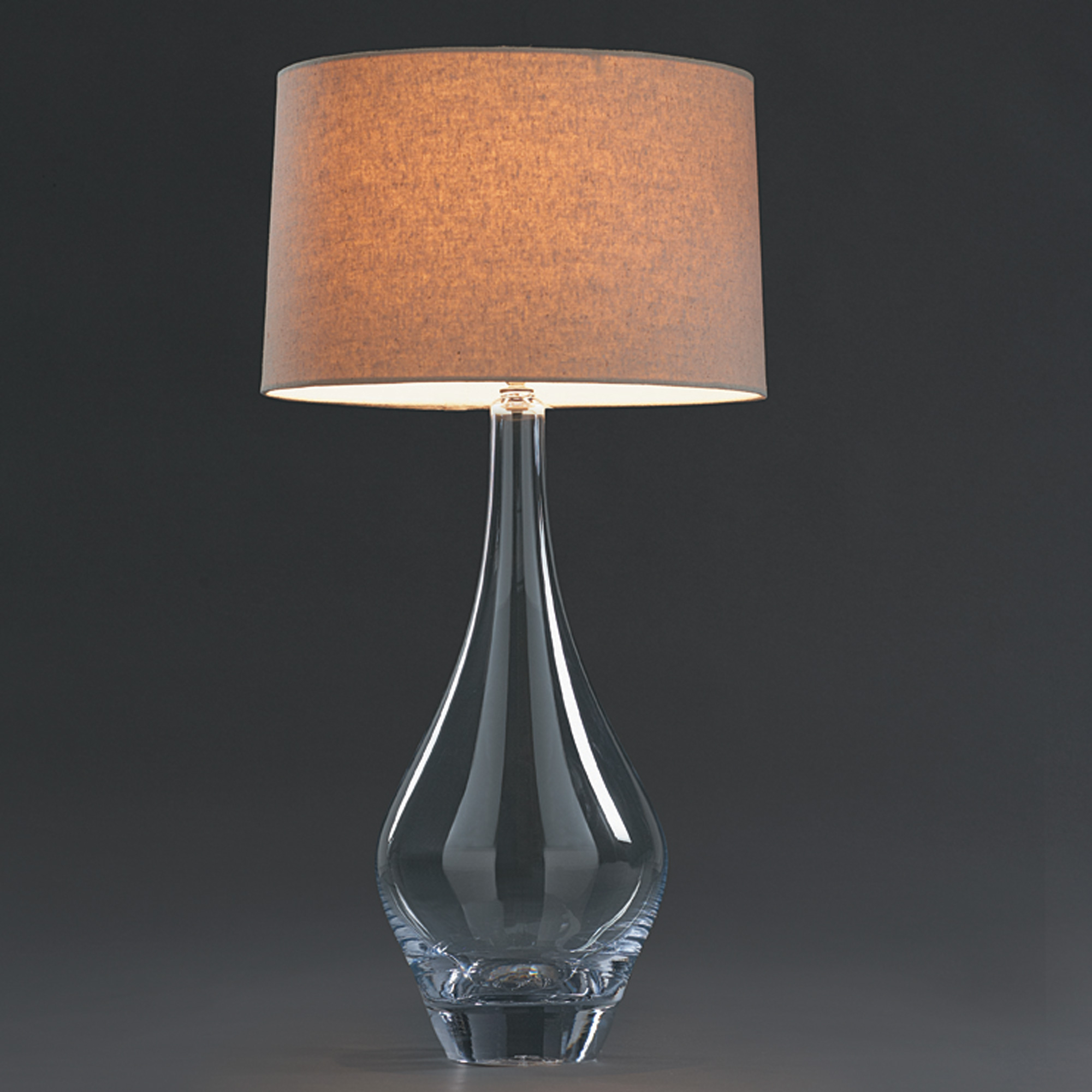 Simon Pearce Glass Warren Lamp