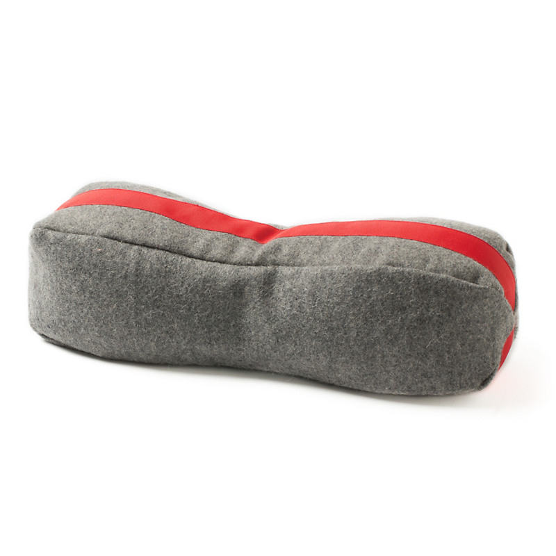 E. Wightman & Co. Men's Racing Stripe Buckwheat Neck Pillow