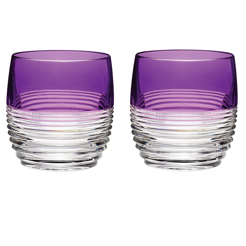 Mixology DOF Glasses in Circon Purple, Set of 2