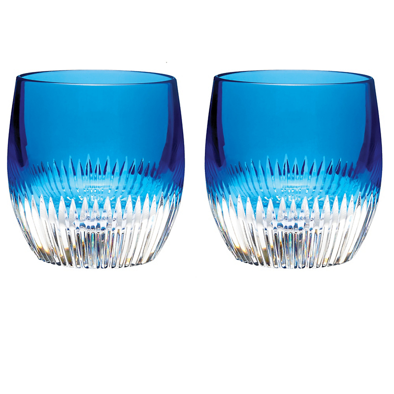Mixology DOF Glasses in Argon Blue, Set of 2