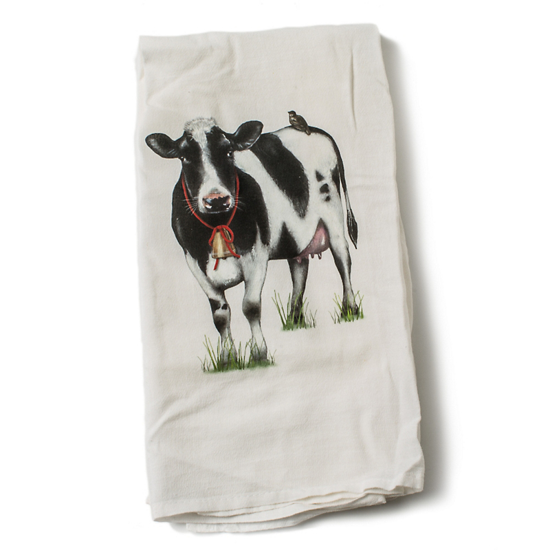 Mary Lake-Thompson Cow Towel