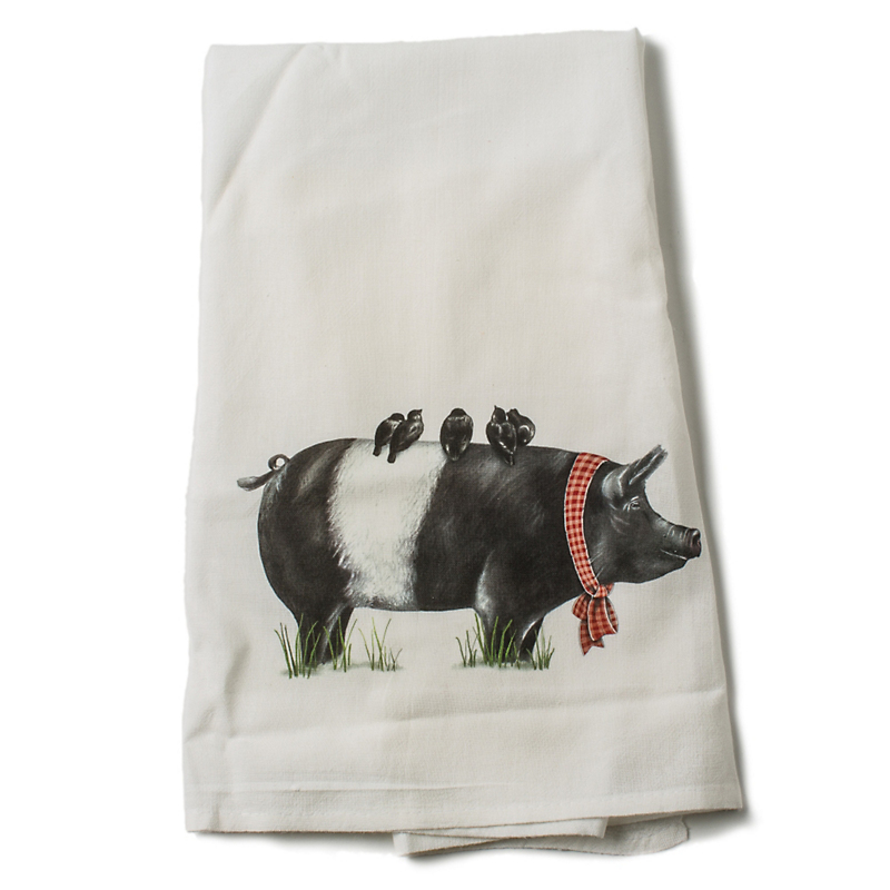 Mary Lake-Thompson Pig Towel