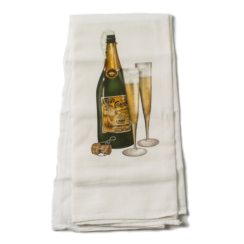 Mary Lake-Thompson Champagne Towel