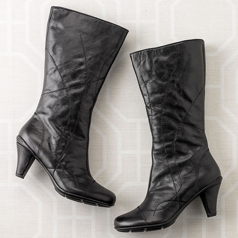 Gentle Souls Stitched Dress Boots
