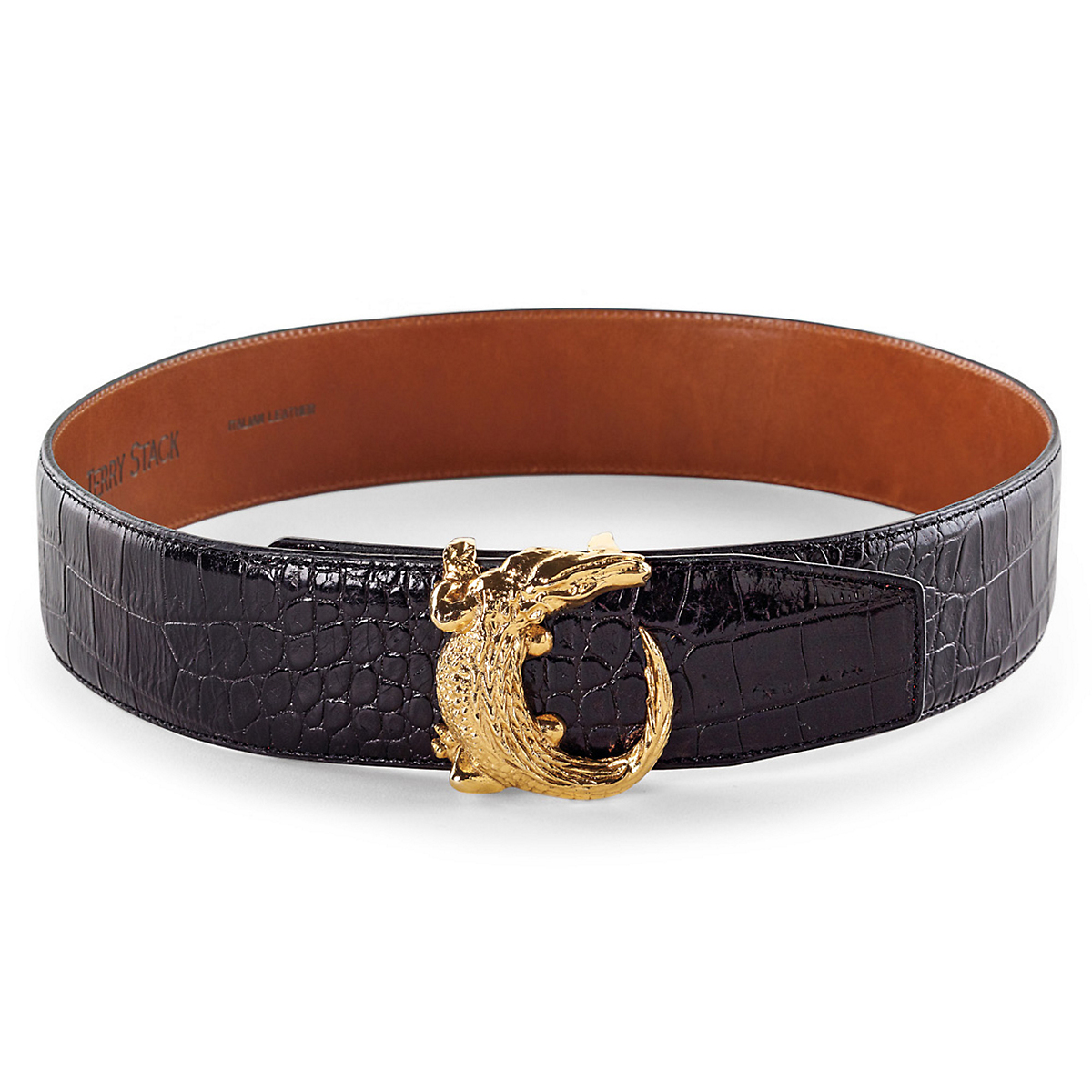 Alligator Buckle Belt