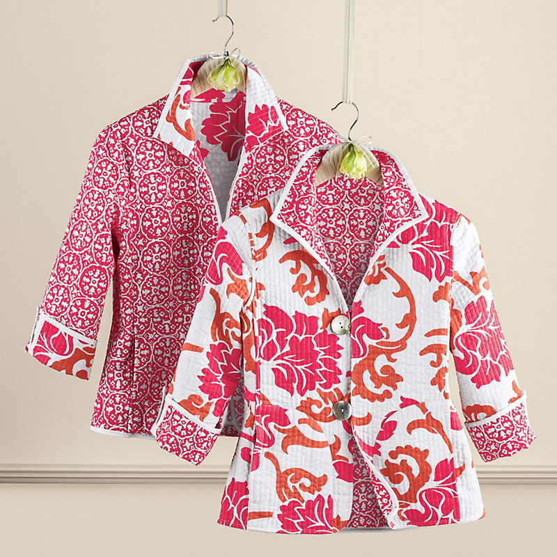 Reversible Lily Quilted Jacket