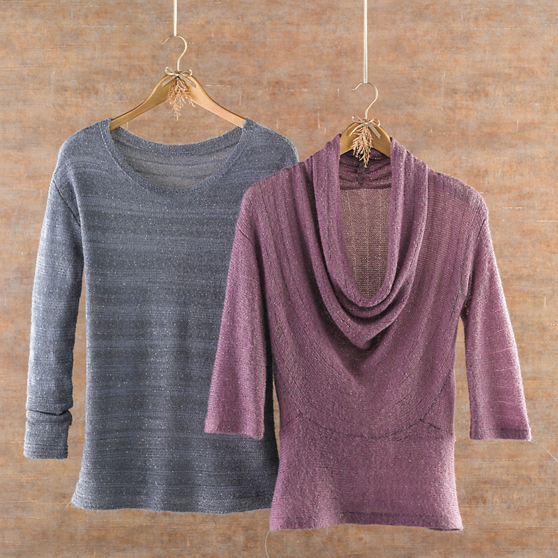 Sparkle-Stitch Tunic & Sweater