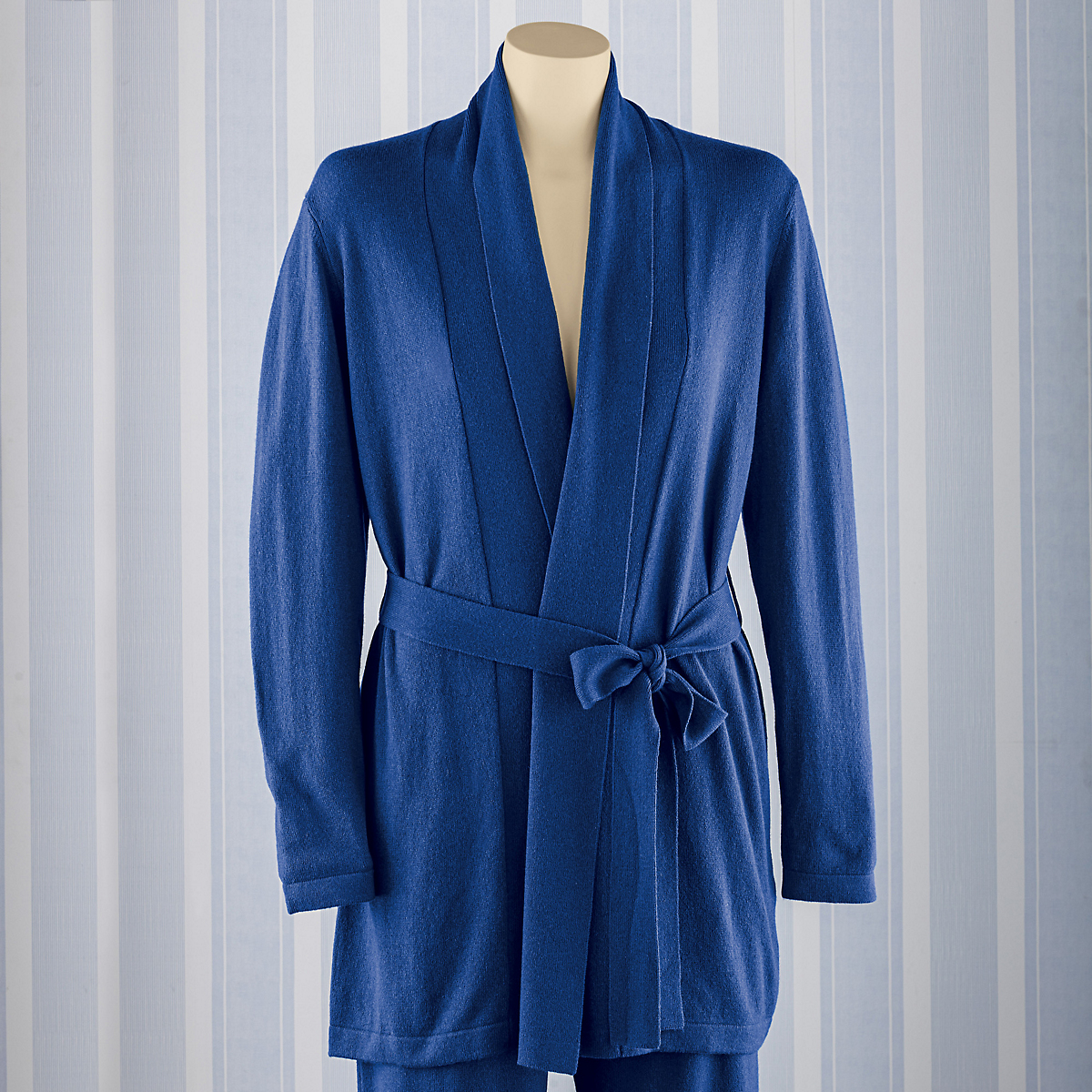 Silk & Cashmere Short Robe