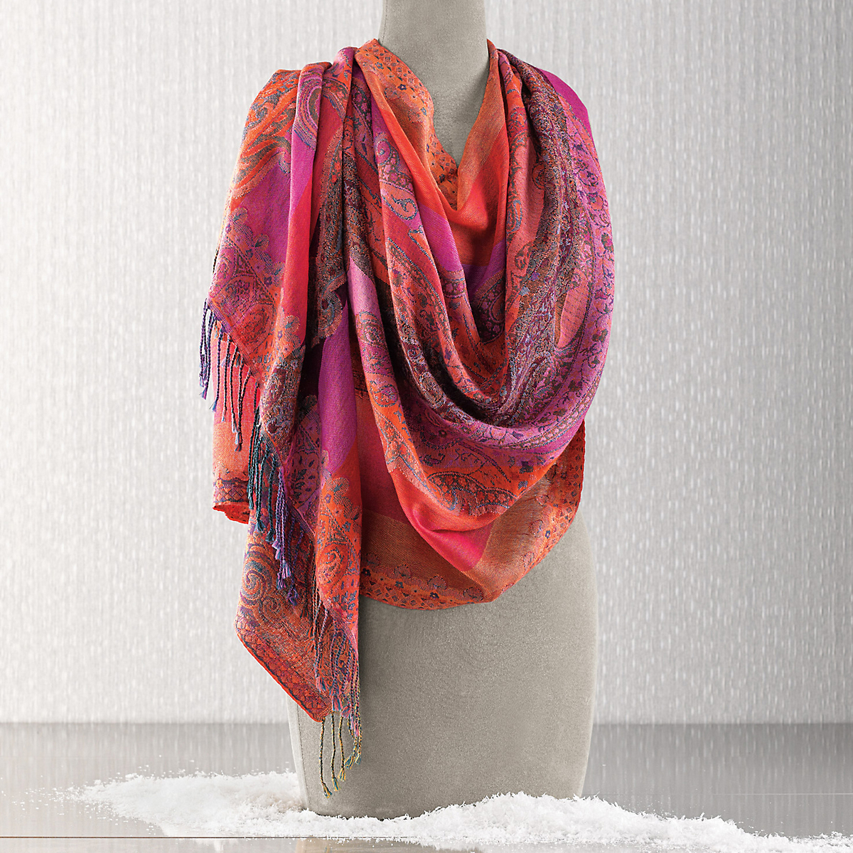 Pia Paisley Scarf