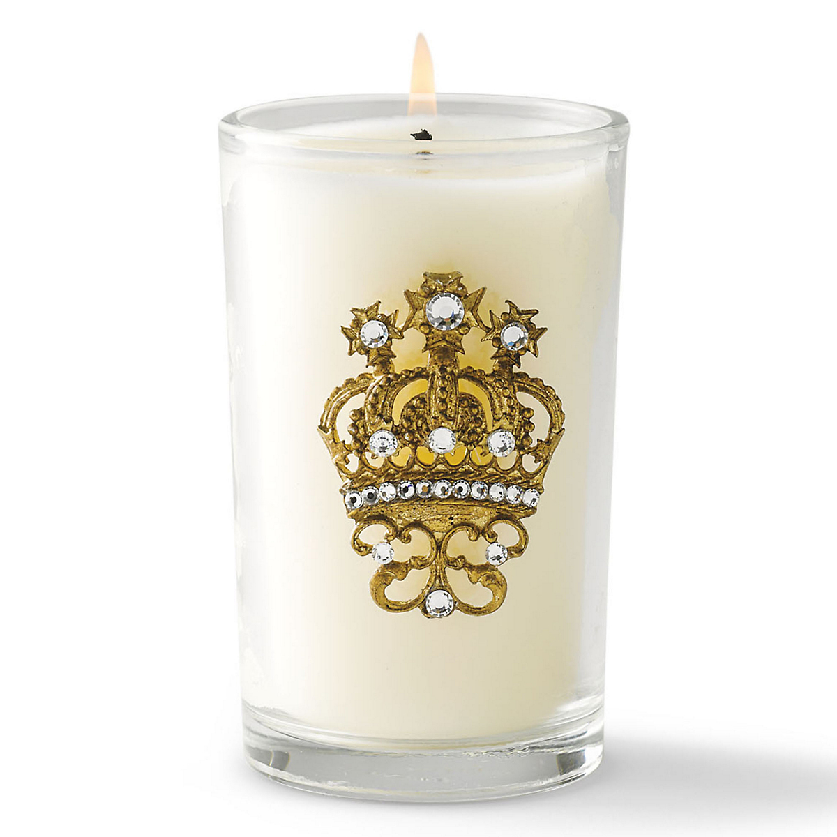 Swarovski Crystal Crown Candle