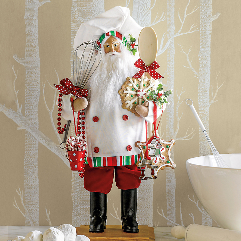 Lynn Haney Pastry Chef Santa