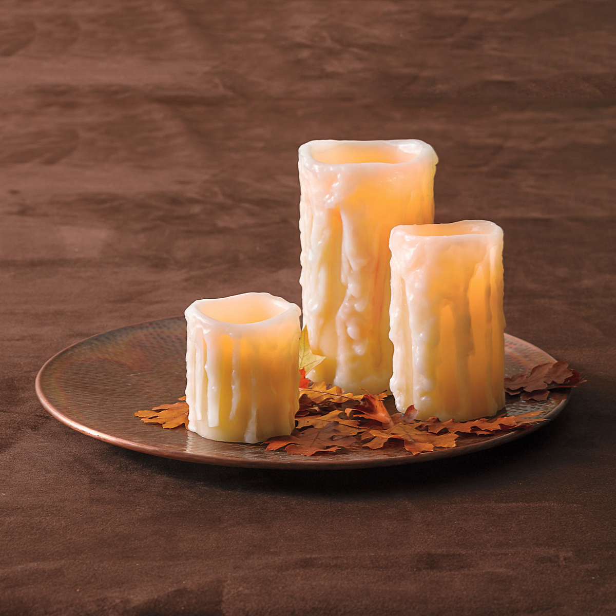 Heavy Drip Flameless Candles