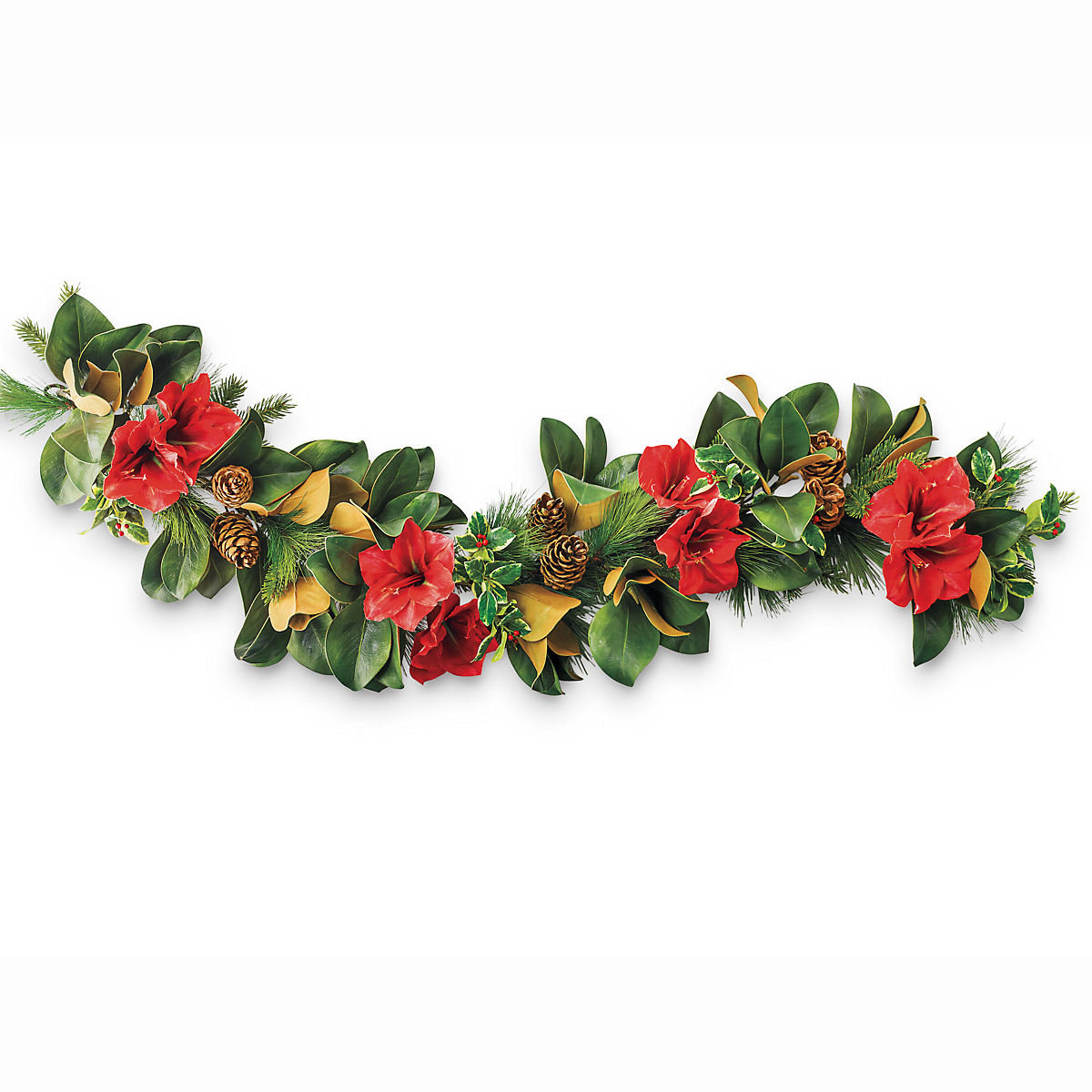 Holiday Amaryllis Garland