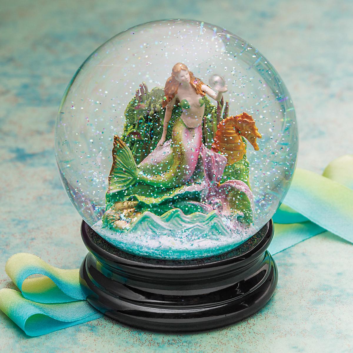 Mermaid Snowglobe Gump S