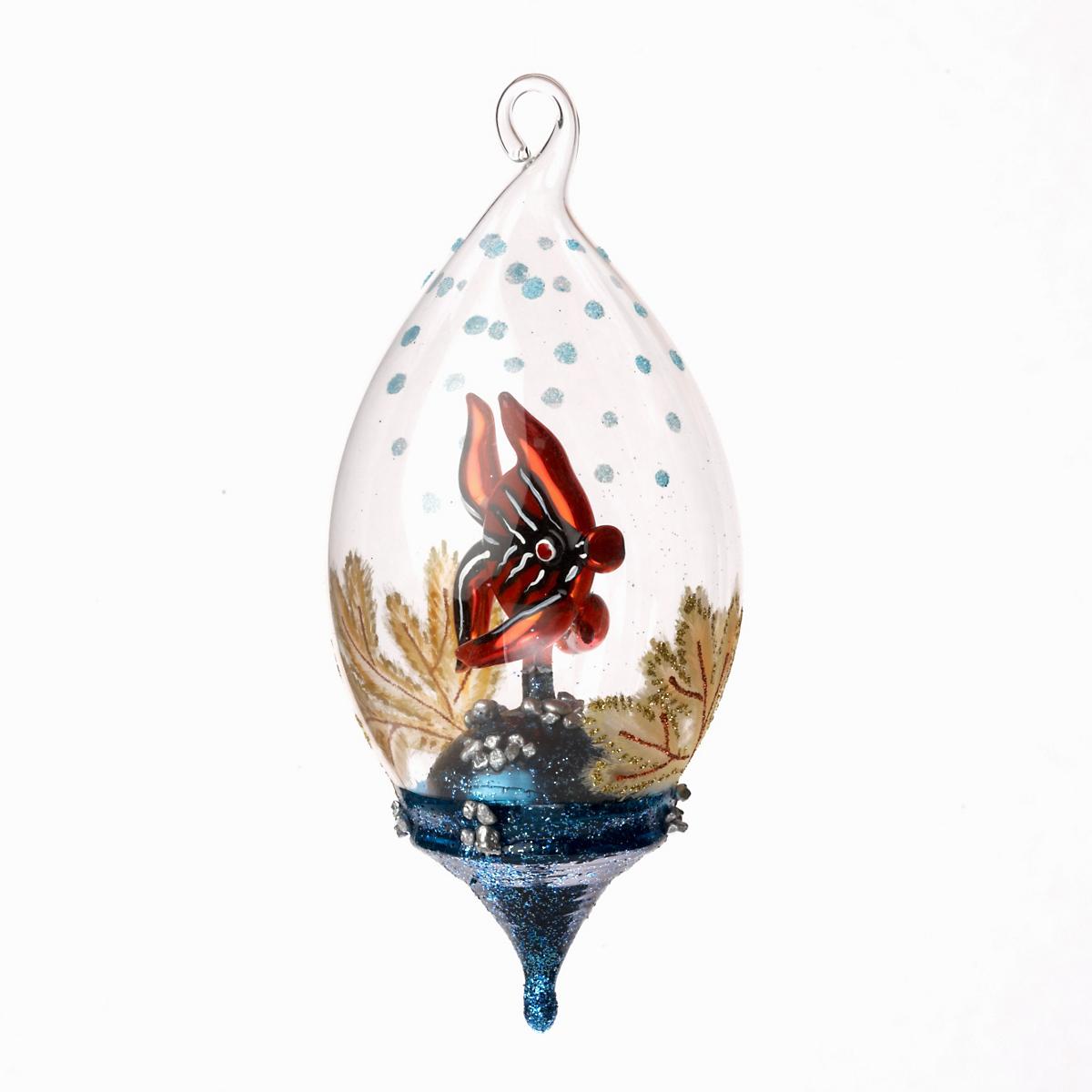Fish In Bowl Christmas Ornament | Gump's