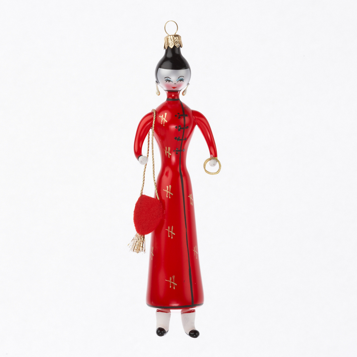 Shanghai Lady Christmas Ornament