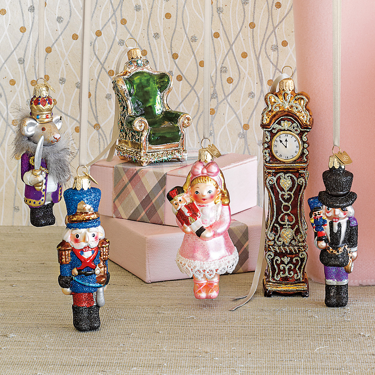 Nutcracker Ballet Ornaments