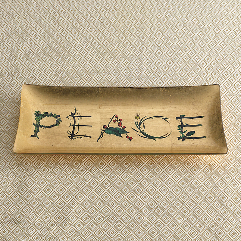 Glass Peace Tray