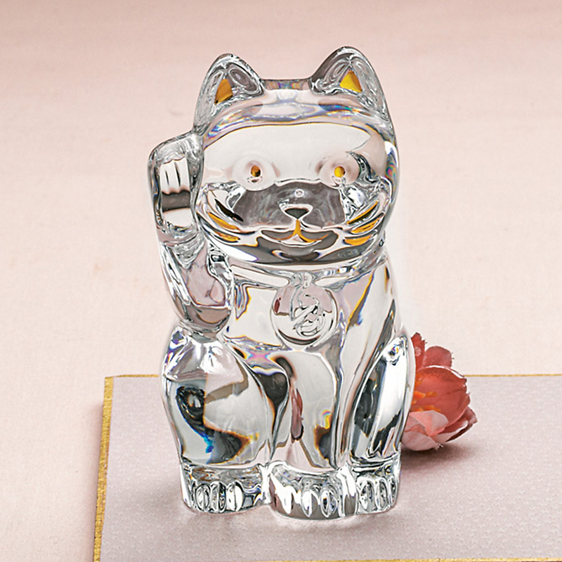 Baccarat Lucky Cat, Clear