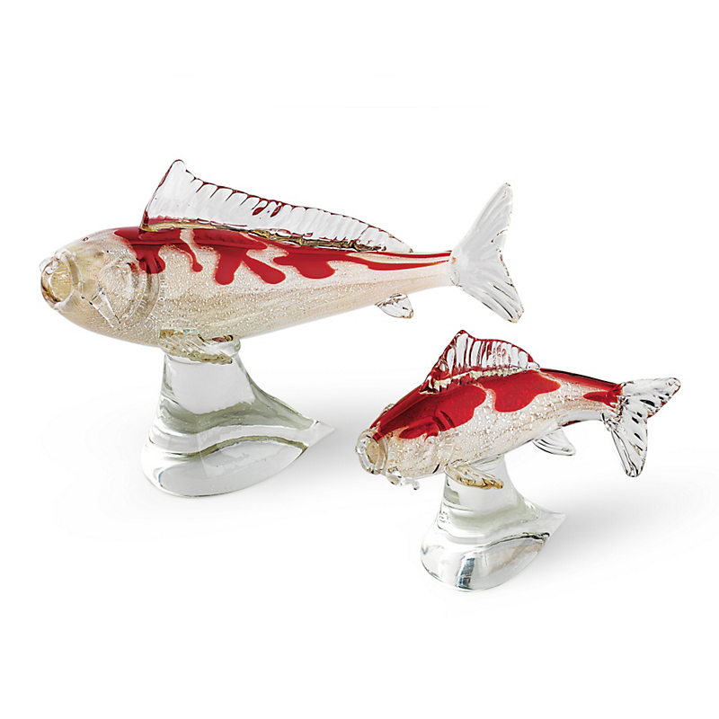 Glass koi fish gump 39 s for Koi fish gifts