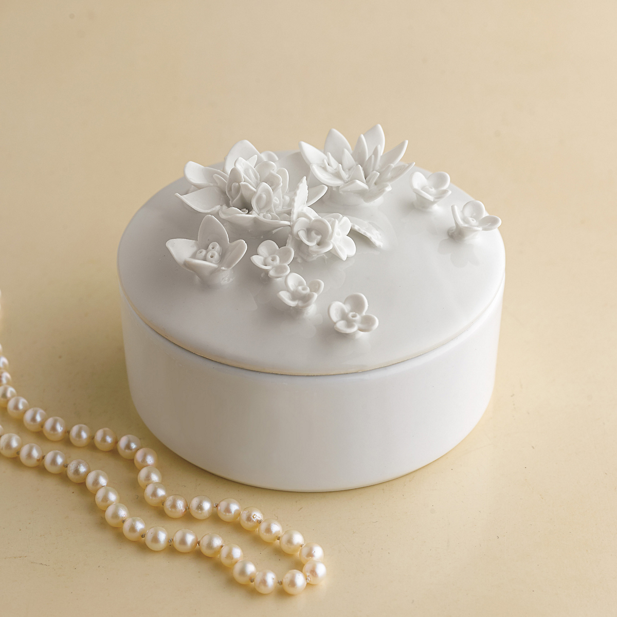 Porcelain Flower Box